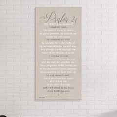 Artissimo Designs 'Psalm 23' Canvas Wall Art