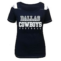 Plus Size Majestic Dallas Cowboys Football Tee