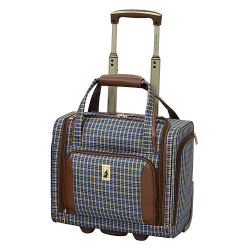 London Fog Kensington 360 15-Inch Wheeled Underseater Carry-on Luggage
