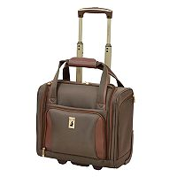 London Fog Kensington 360 15-Inch Wheeled Underseater Carry-on Luggage