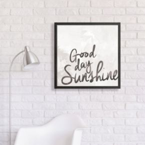 "Artissimo Designs ""Good Day Sunshine"" Framed Wall Art"