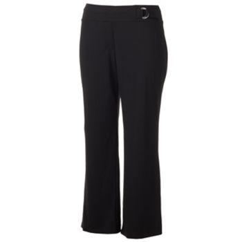 Juniors' Plus Size Joe B Ponte Bootcut Pants