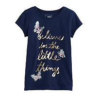 Girls 4-12 SONOMA Goods for Life™ Embellished Knit Tee