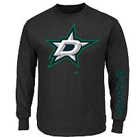 Big & Tall Majestic Dallas Stars Hit Pop Tee