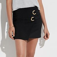 k/lab Grommet Mini Skirt
