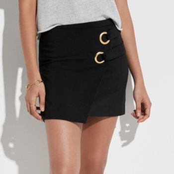 k/lab Grommet Mini Skirt