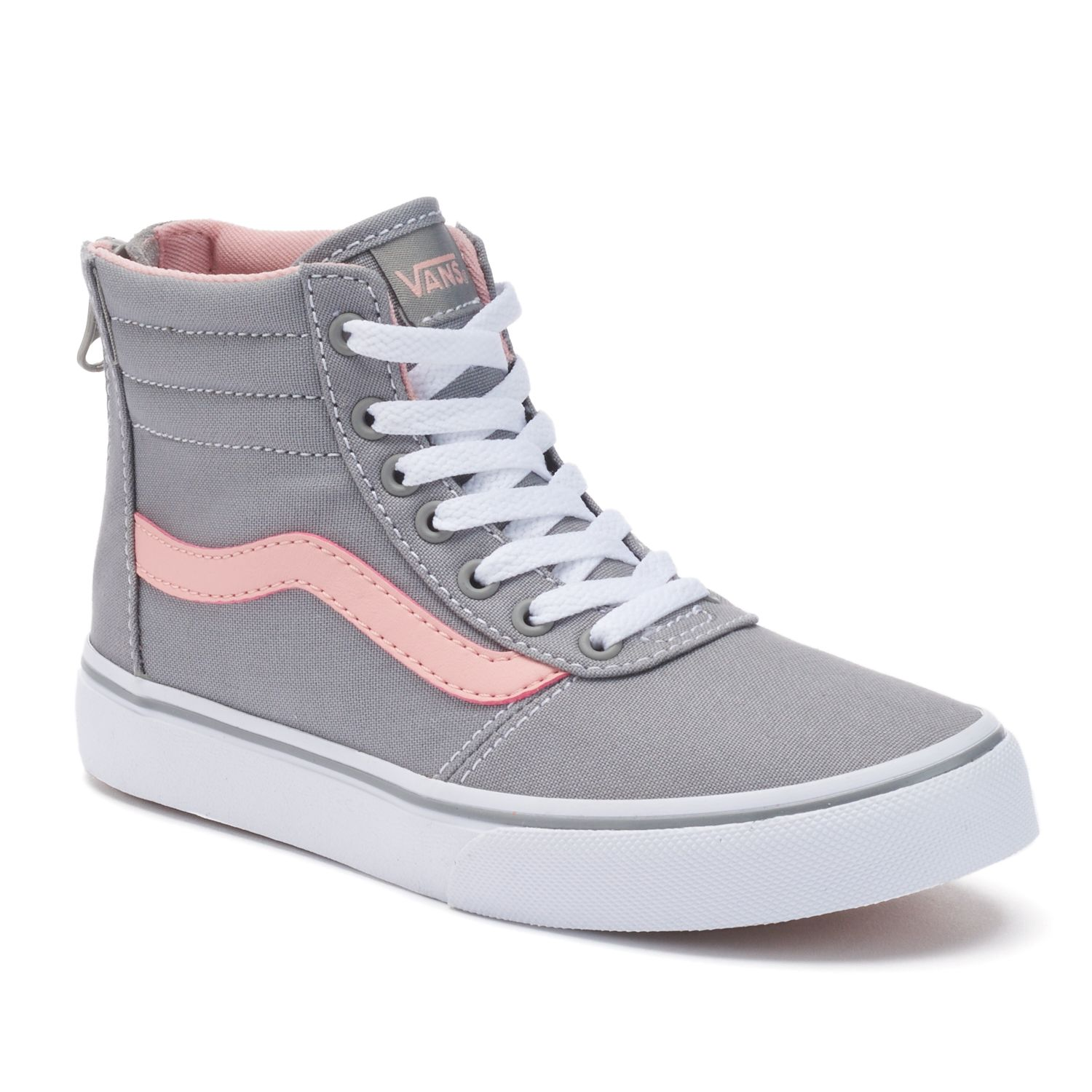 youth vans high tops