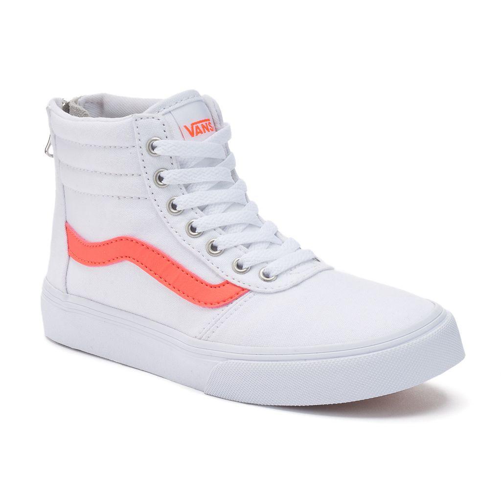Vans My Maddie Zip Girls' High-Top Skate Shoes
