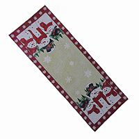 St Nicholas Square® Snowman Tapestry Table Runner - 36
