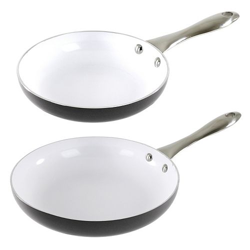 Oneida 2-pc. Ceramic Frypan Set