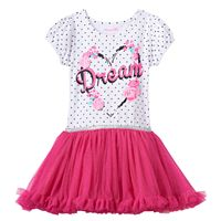 Toddler Girl Nannette Floral Glitter Mesh Dress