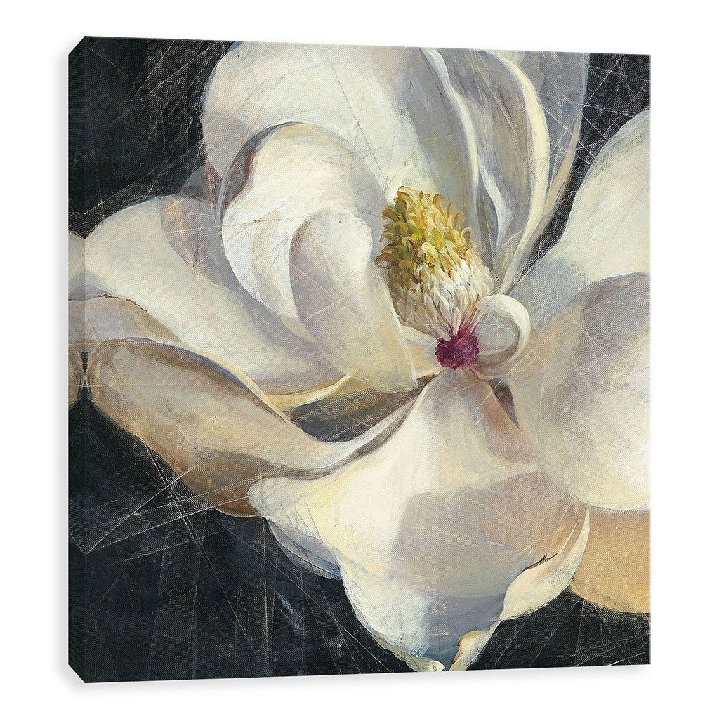 Artissimo Designs Vivid Floral IV Canvas Wall Art