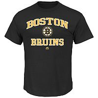 Big & Tall Majestic Boston Bruins Team Color Tee