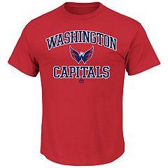 Big & Tall Majestic Washington Capitals Team Color Tee