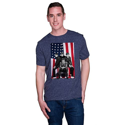 Men's Patriotic Beatles Tee