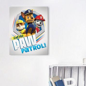 Paw Patrol Canvas Wall Art
