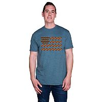 Men's Burgers & Hot Dogs Flag Tee