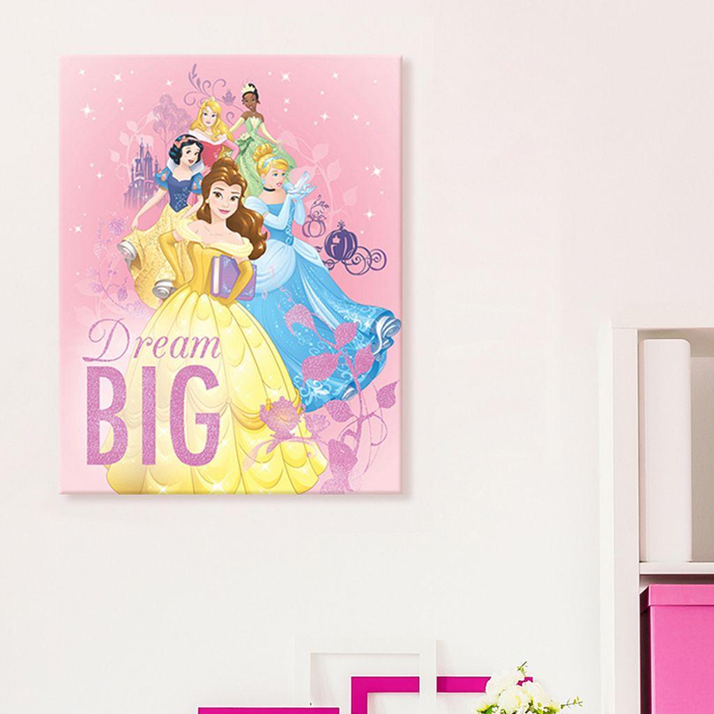 Disney Princess Canvas Wall Art