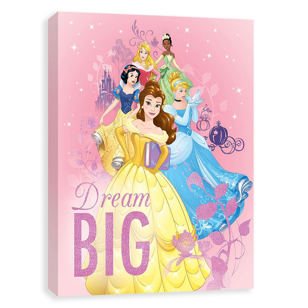 Disney Princess Canvas Wall Art