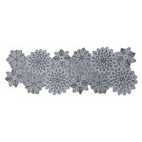 St. Nicholas Square® Beaded Snowflake Table Runner - 36