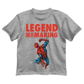 "Boys 4-7 Marvel Spider-Man ""Legend in the Making"" Graphic Tee"