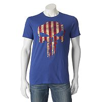 Men's Marvel The Punisher American Flag Tee