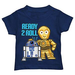 Toddler Boy Star Wars R2D2 & C3PO