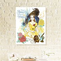 Disney's Beauty And The Beast Canvas Wall Art