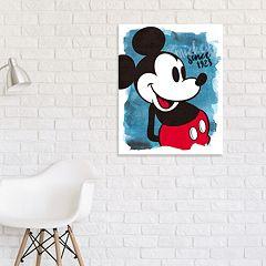 Disney's Mickey Mouse Canvas Wall Art