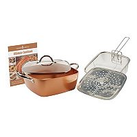 As Seen on TV Copper Chef XL 5 pc Casserole Pan Set