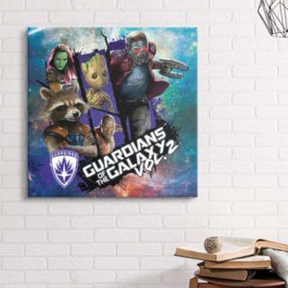 Marvel Guardians Of The Galaxy Vol. 2 Canvas Wall Art