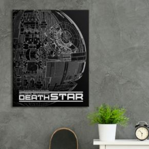 "Star Wars ""Death Star"" Canvas Wall Art"