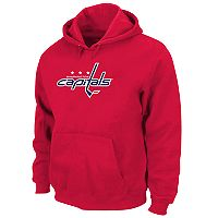 Big & Tall Majestic Washington Capitals Logo Hoodie