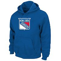 Big & Tall Majestic New York Rangers Logo Hoodie