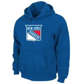 Big & Tall Majestic New York Rangers Logo Hoodie