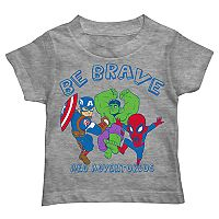 Toddler Boy Captain America, Hulk & Spider-Man