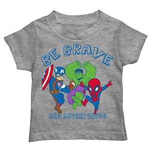 Toddler Boy Captain America, Hulk & Spider-Man !
