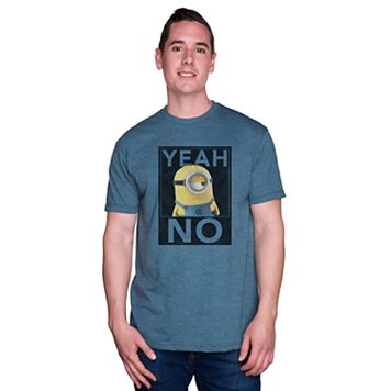 Men's Despicable Me Minion Yeah No Tee