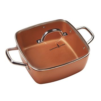 As Seen on TV Copper Chef 11-in. Casserole Pan