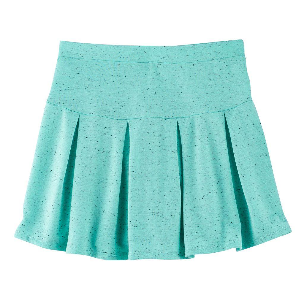 Girls 7-16 SO® Pleated Nep Skirt