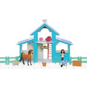 Spirit Riding Free Spirit Barn Playset