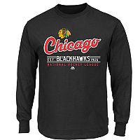 Boys 8-20 Majestic Chicago Blackhawks Long-Sleeve Tee