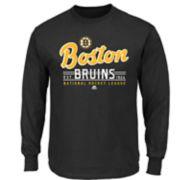 Boys 8-20 Majestic Boston Bruins Long-Sleeve Tee