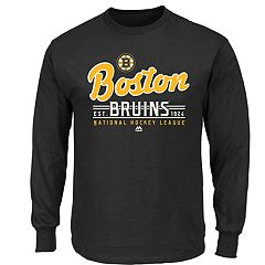 Boys 8-20 Majestic Boston Bruins Long-Sleeve Tee