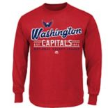 Boys 8-20 Majestic Washington Capitals Long-Sleeve Tee