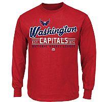 Boys 8-20 Majestic Washington Capitals Long-Sleeve Tee
