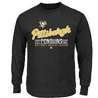 Boys 8-20 Majestic Pittsburgh Penguins Long-Sleeve Tee
