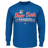 Boys 8-20 Majestic New York Rangers Long-Sleeve Tee