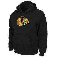 Boys 8-20 Majestic Chicago Blackhawks Logo Pullover Hoodie