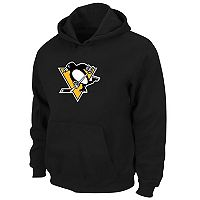 Boys 8-20 Majestic Pittsburgh Penguins Logo Pullover Hoodie